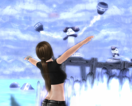 art and second life