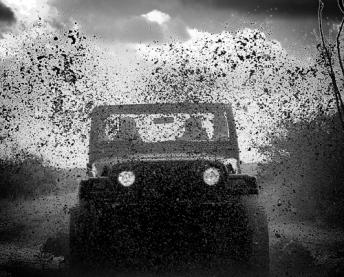 jeep cg mud b&w 112908
