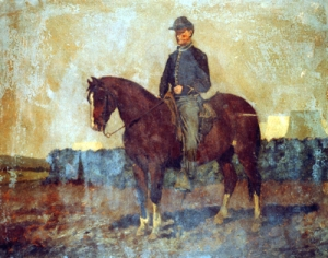 Cavalry_Orderly_Edwin_Forbes