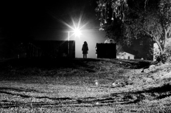 Girl Alone_In_The_Dark by_visceral