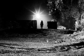 Girl Alone_In_The_Dark by_visceral