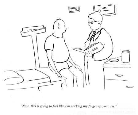 Michael Shaw's Rejected New Yorker Cartoon