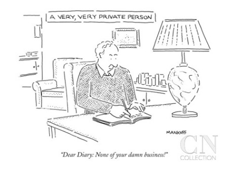dear diary cartoon