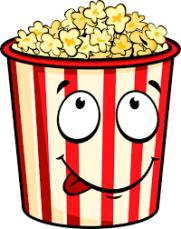 popcorn drawing