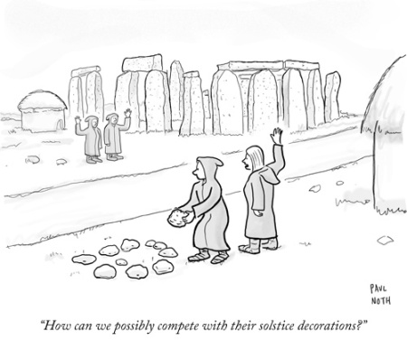 cartoon stonehenge