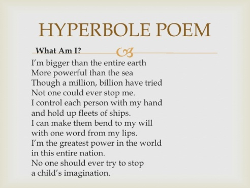 hyperbole-poem