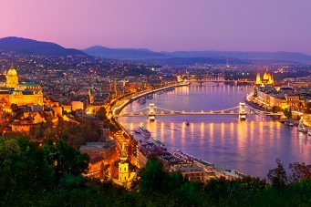 View of Budapest at Night
