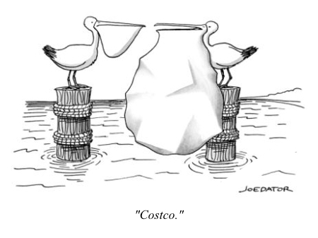 cartoon pelican costco