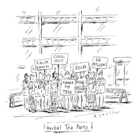 herbal tea party
