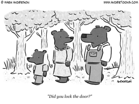 cartoon 3 bears