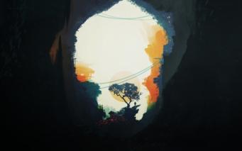 orange tree art