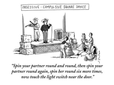 cartoon square dance