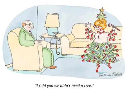 cartoon don't need a tree