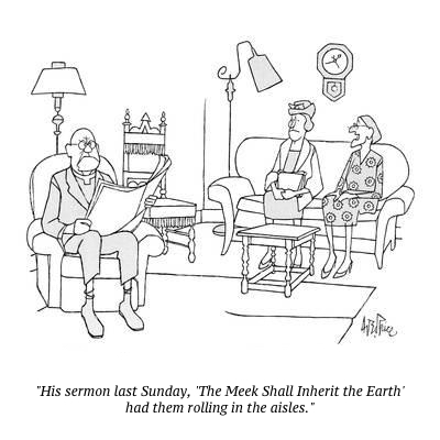cartoon meek sermon