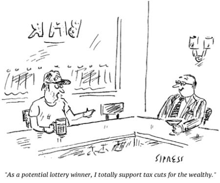 cartoon tax cuts