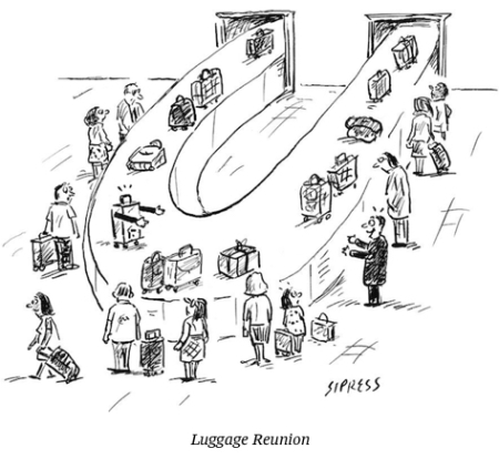 cartoon baggage carousel