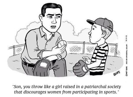 cartoon patriarchy