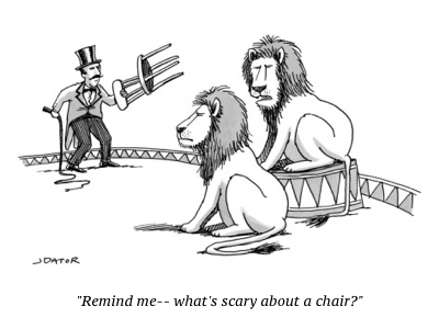 cartoon two lions