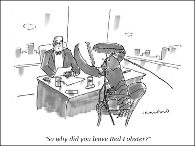 cartoon red lobster 2