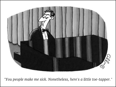 cartoon toe tapper