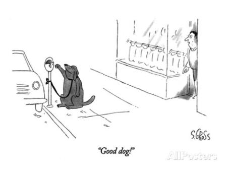 cartoon good dog