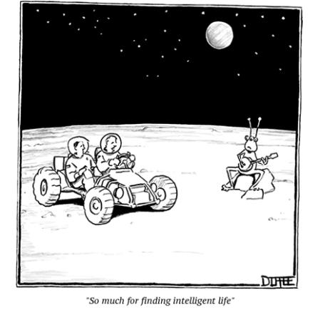 cartoon intelligent life