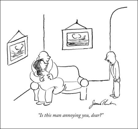cartoon man annoying
