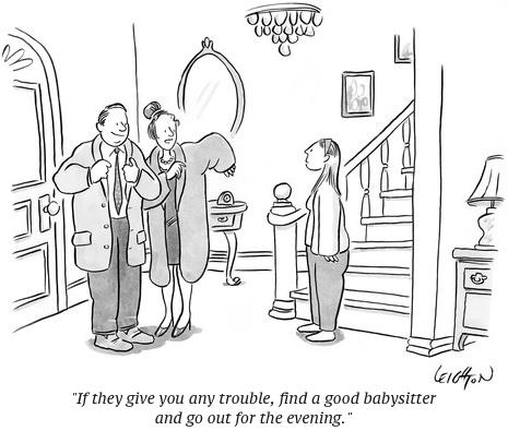cartoon babysitter