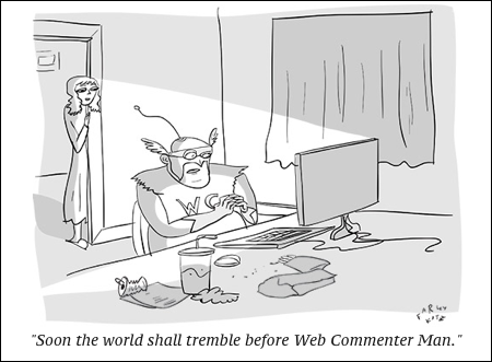 cartoon web troll