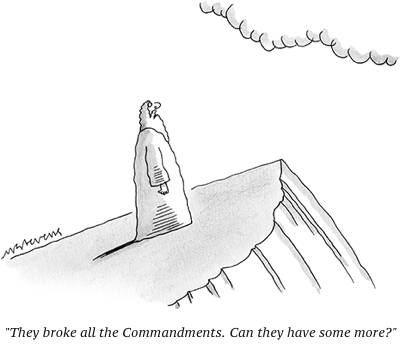 cartoon 10 commandments