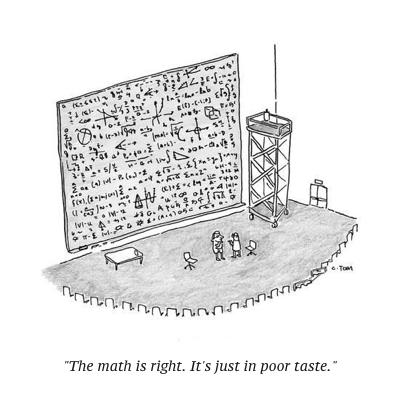cartoon math