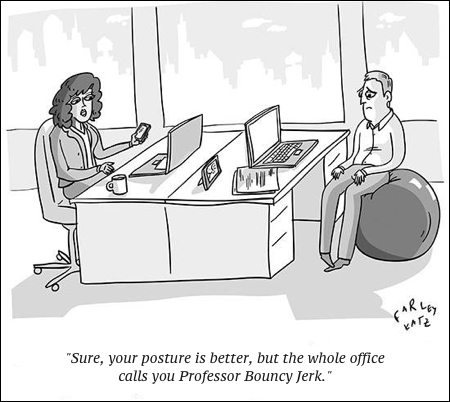 cartoon professor bouncy