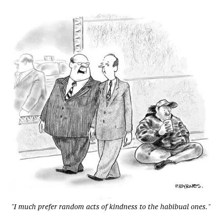 cartoon act of kindness
