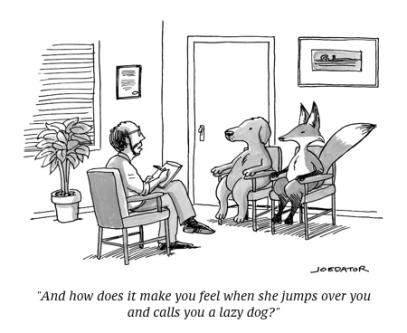 cartoon fox and dog