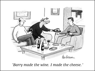 cartoon made-the-wine-i-made-the-cheese-new-yorker-cartoon_a-G-9168438-8419447