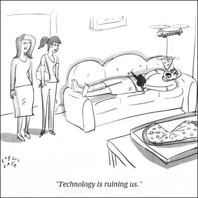 cartoon technology ruin