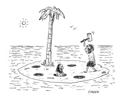 cartoon david-sipress-whac-a-mole-island-new-yorker-cartoon_a-l-9172422-8419449
