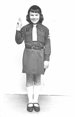1950 Brownie Uniform