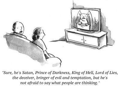 cartoon satan