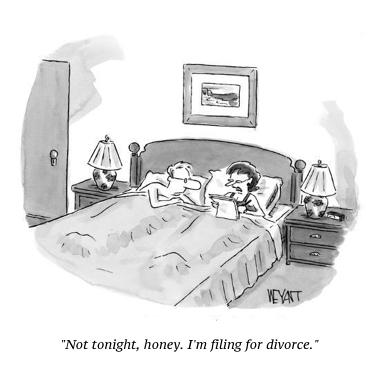 cartoon divorce