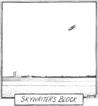 cartoon skywriters block