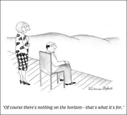 cartoon horizon