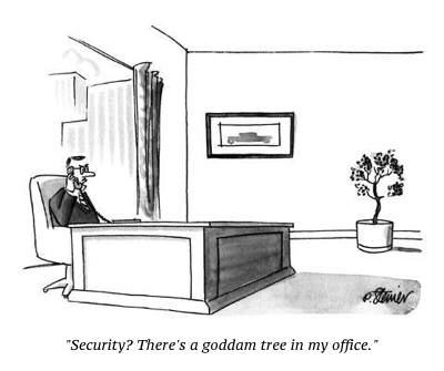 cartoon security