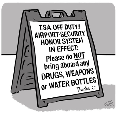 cartoon tsa honor