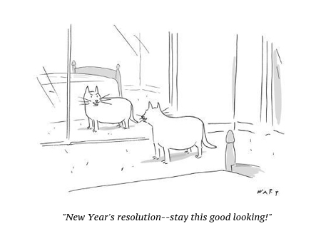 cartoon new year still good