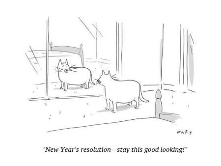 cartoon new year still good