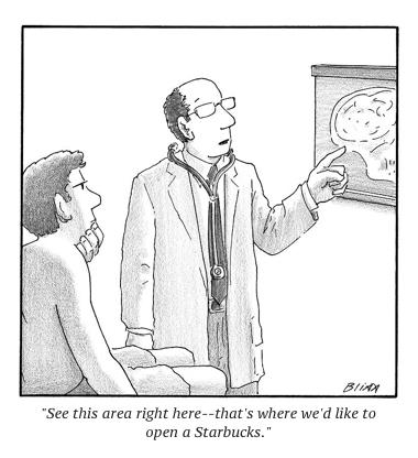 cartoon doc starbucks