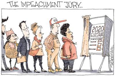cartoon impeach jury