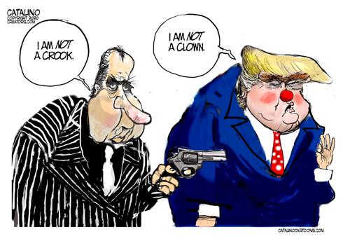 cartoon not a clown