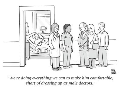 cartoon women docs